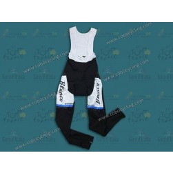 2013 Blanco Black And Blue Thermal Cycling Bib Pants