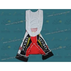 2011 Geox Tour De Spain Red Cycling Bib Shorts
