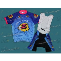 Team Vetements Z Throwback Cycling Jersey and Bib Shorts Set