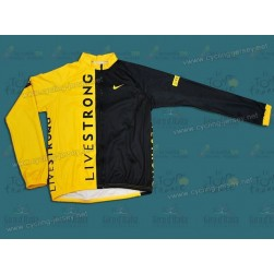 2009 Livestrong Thermal Cycling Long Sleeve Jersey