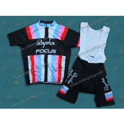 2013 Rapha Focus Black Cycling Jersey And Bib Shorts