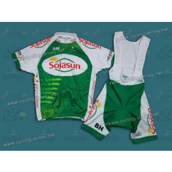 2013 Sojasun Green Cycling Jersey and Bib Shorts