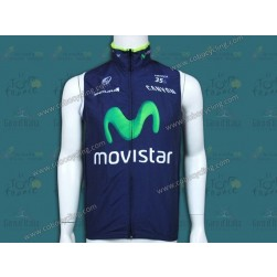 2014 Team Movistar Cycling Wind Vest