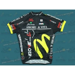 2009 Amore & Vita McDonald's Team Cycling Jersey