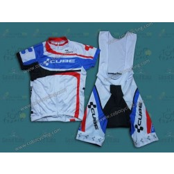 2014 Cube Women Cycling Jersey And Bib Shorts