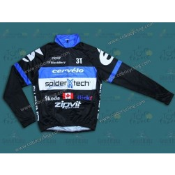 2013 Cervelo Spider Tech Thermal Long Sleeve Cycling Jersey