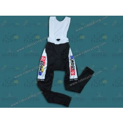 Team La Vie Claire Vintage Cycling Bib Pants