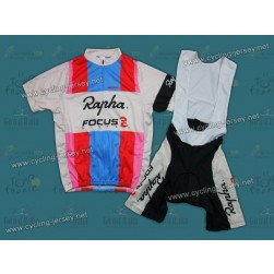 Rapha Focus Throwback Cycling Jersey and Bib Shorts Set