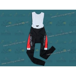 2012 GHOST Black/Red Thermal Cycling Long BIB Pants