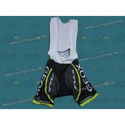 2012 Team TMC GEOX Black Cycling Bib Shorts