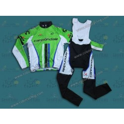 2013 Cannondale Thermal Long Cycling Jersey And Bib Pants