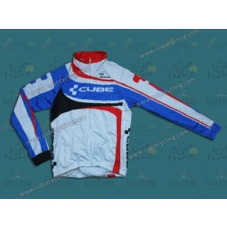 2014 Cube Women Thermal Long Sleeve Cycling Jersey