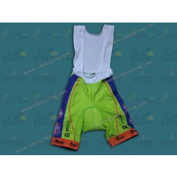 2014 Neri Sottoli- Yellow Fluo Cycling Bib Shorts