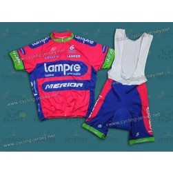 2013 Lampre Merida Cycling Jersey and Bib Shorts