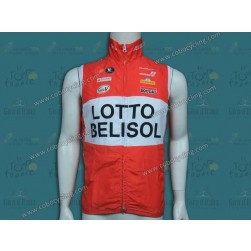 2014 Team Lotto - Belisol Cycling Wind Vest