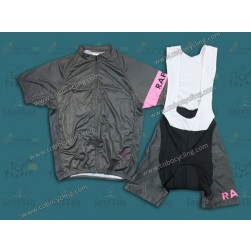 2013 Team Rapha Grey Cycling Jersey And Bib Shorts