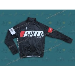 2013 SPED Black Thermal Cycling Long Sleeve Jersey