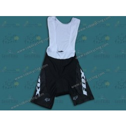 2014 Fox Black/Whtie Cycling Bib Shorts