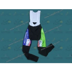 2013 Liquigas US Champion Thermal Cycling  Bib Pants