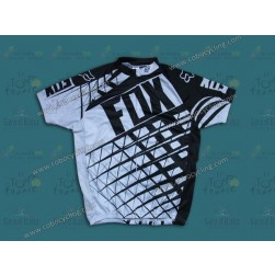 2014 Fox Black/Whtie Cycling Jersey