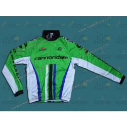 2014 Cannondale Factory Team Thermal Long Sleeve Cycling Jersey
