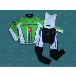 2013 Cannondale Slovakia Champion Thermal Long Cycling Jersey And Bib Pants