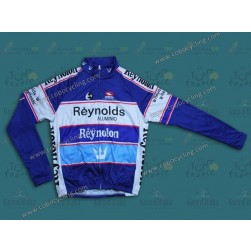 Reynolds Reynolon Blue Thermal Cycling Long Sleeve Jersey