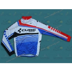 2014 Cube Thermal Long Sleeve Cycling Jersey