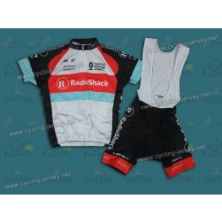 2013 RadioShack Leopard Trek Cycling Jersey and Bib Shorts