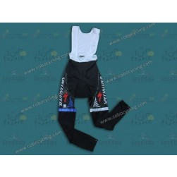 2013 SPED Black And Blue Thermal Cycling Bib Pants