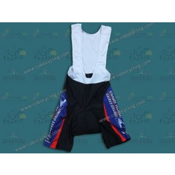 2000 USPS White And Blue Cycling Bib Shorts