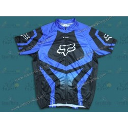 2014 Fox Blue Cycling Jersey
