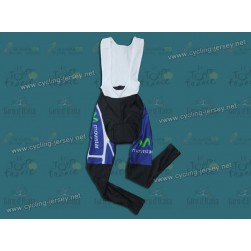 2011 Movistar Thermal Cycling Bib Pants