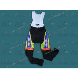 2014 Neri Sottoli- Yellow Fluo Thermal Cycling Bib Pants