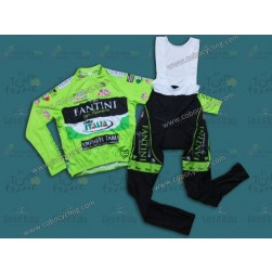 2013 Farnese Long Sleeve Cycling Jersey And Bib Pants Set