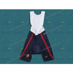 2013 Barcelona Barca Blue Cycling Bib Shorts