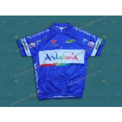 2012 Andalucia Blue Cycling Jersey