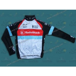 2013 RadioShack Leopard Trek Thermal Cycling Long Sleeve Jersey