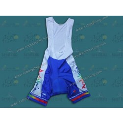 2012 Andalucia Blue Cycling Bib Shorts