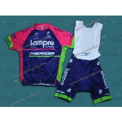 2014 Team Lampre Cycling Jersey And Bib Shorts