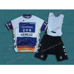 Gemeaz Zor Vintage Cycling Jersey And Bib Shorts