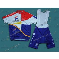 Banesto 1995 Vintage Cycling Jersey And Bib Shorts