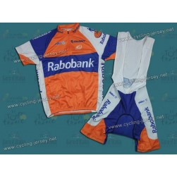 2012 Team Rabobank Cycling Jersey and Bib Shorts Set