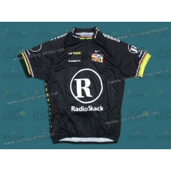 2010 LiveStrong R28 Champion Black Team Cycling Jersey