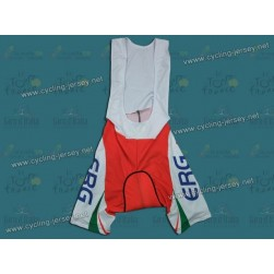 2012 Ferrari ERG White And Green Cycling Bib Shorts