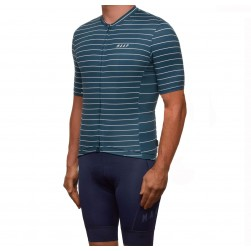 2019 MAAP Movement Team Slate Blue Cycling Jersey And Bib Shorts Set