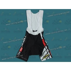 2012 Trek Wild Wolf Black And White Cycling Bib Shorts