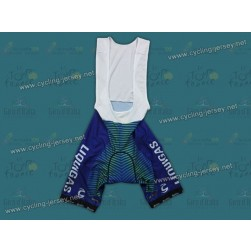2012 Liquigas Green Stripe Cycling Bib Shorts