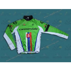2013 Cannondale Slovakia Champion Thermal Cycling Long Sleeve Jersey