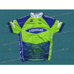 2012 Liquigas Green Stripe Cycling Jersey